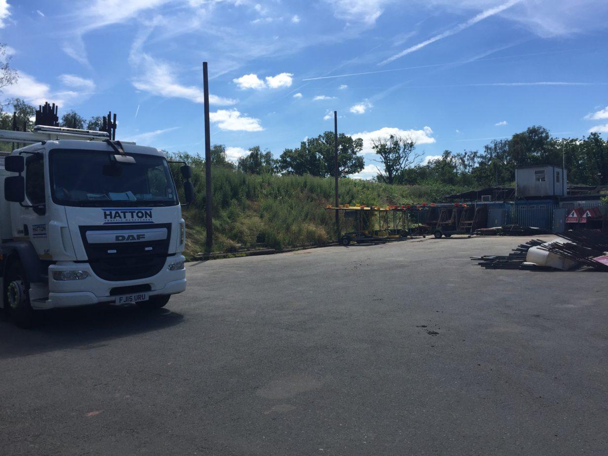 Chelmsford Depot Yard View